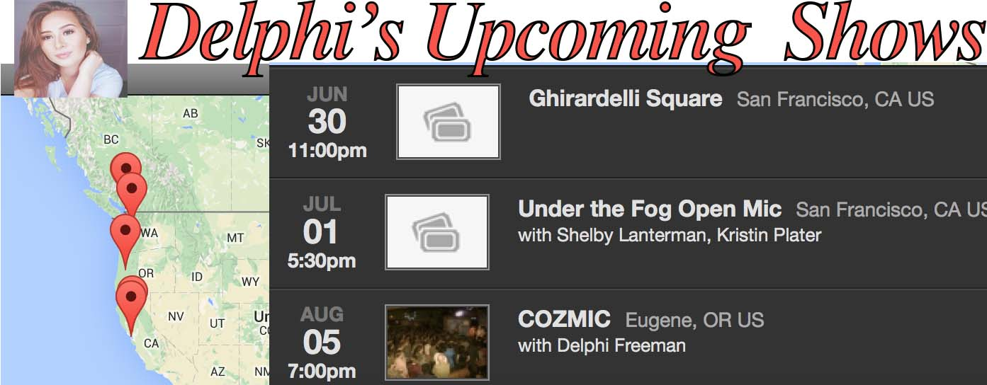 delphis upcoming shows